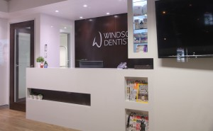 Windsor Dentists Reception
