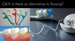 Is there an alternative to flossing?