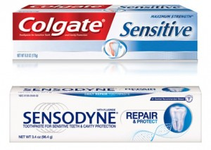 Sensitive Toothpastes - Colgate Sensitive and Sensodyne