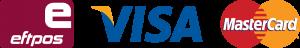 Visa Mastercard Eftpos logo
