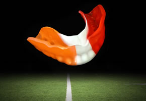 Mouthguard on Field