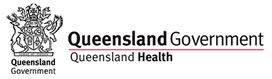 queensland health logo banner